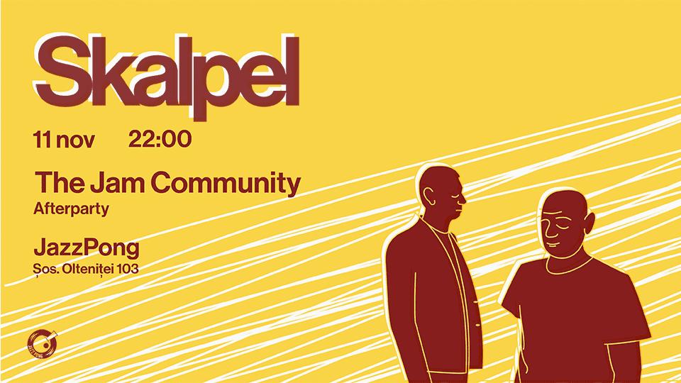 Skalpel (live) & The Jam Community @ Jazz Pong