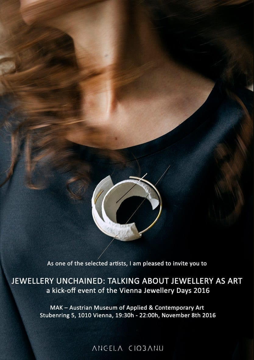 Jewellery Unchained: Talking about jewellery as art @ MAK, Vienna