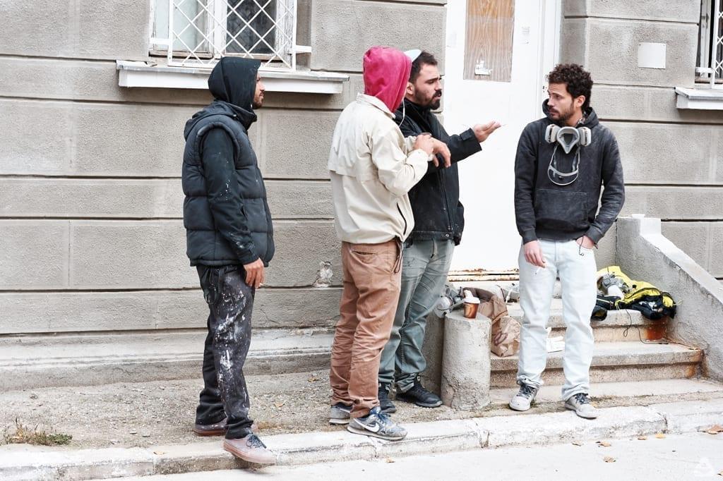feeder insider interview with Vhils Bucharest romania street art