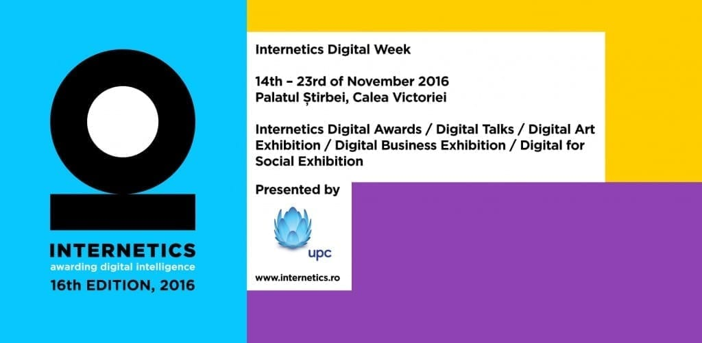 Internetics Digital Week 2016