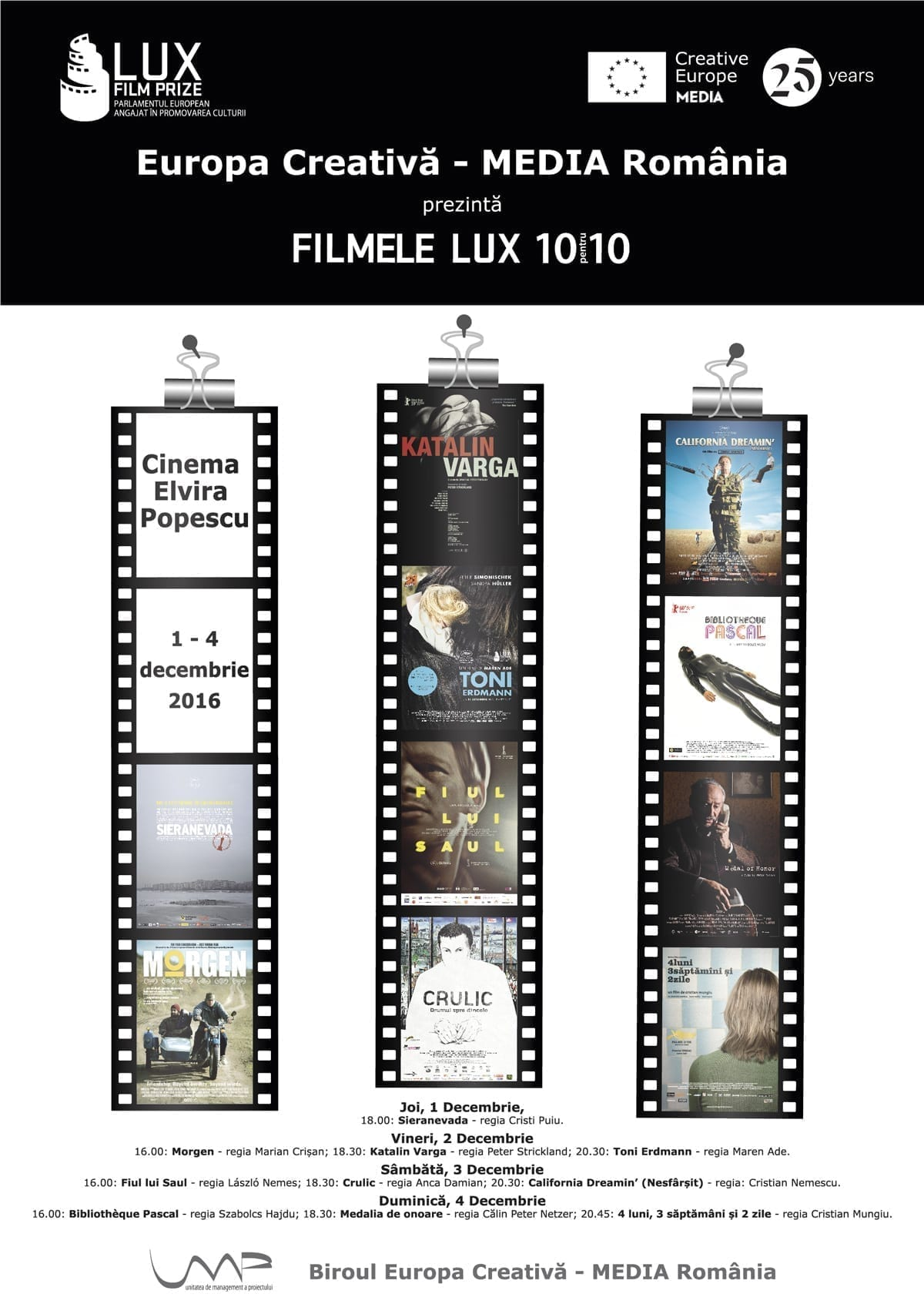 Filmele LUX @ Cinema Elvira Popescu