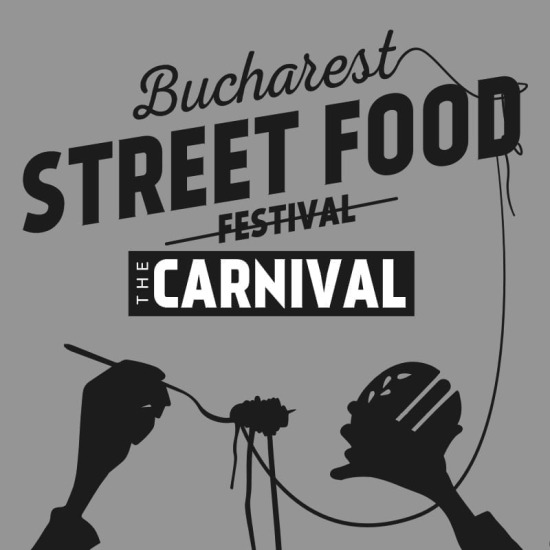 Bucharest street food logo