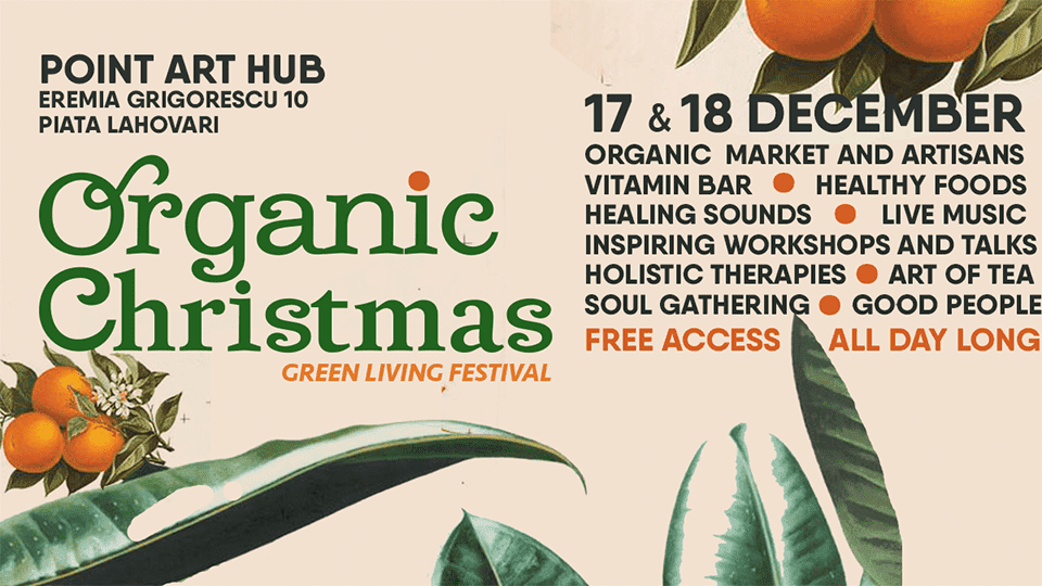 Organic Christmas - Green Living Festival @ POINT