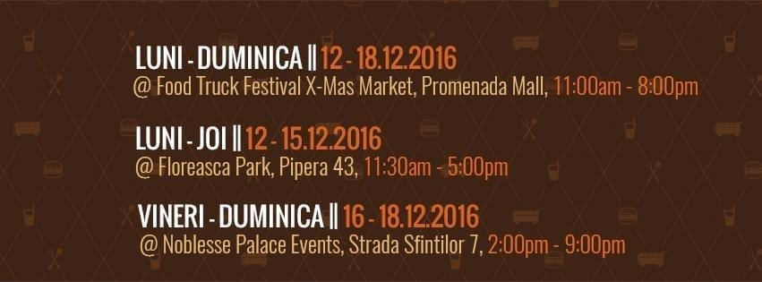 Burger Van @ Food Truck Festival, Floreasca Park, Noblesse Palace Events