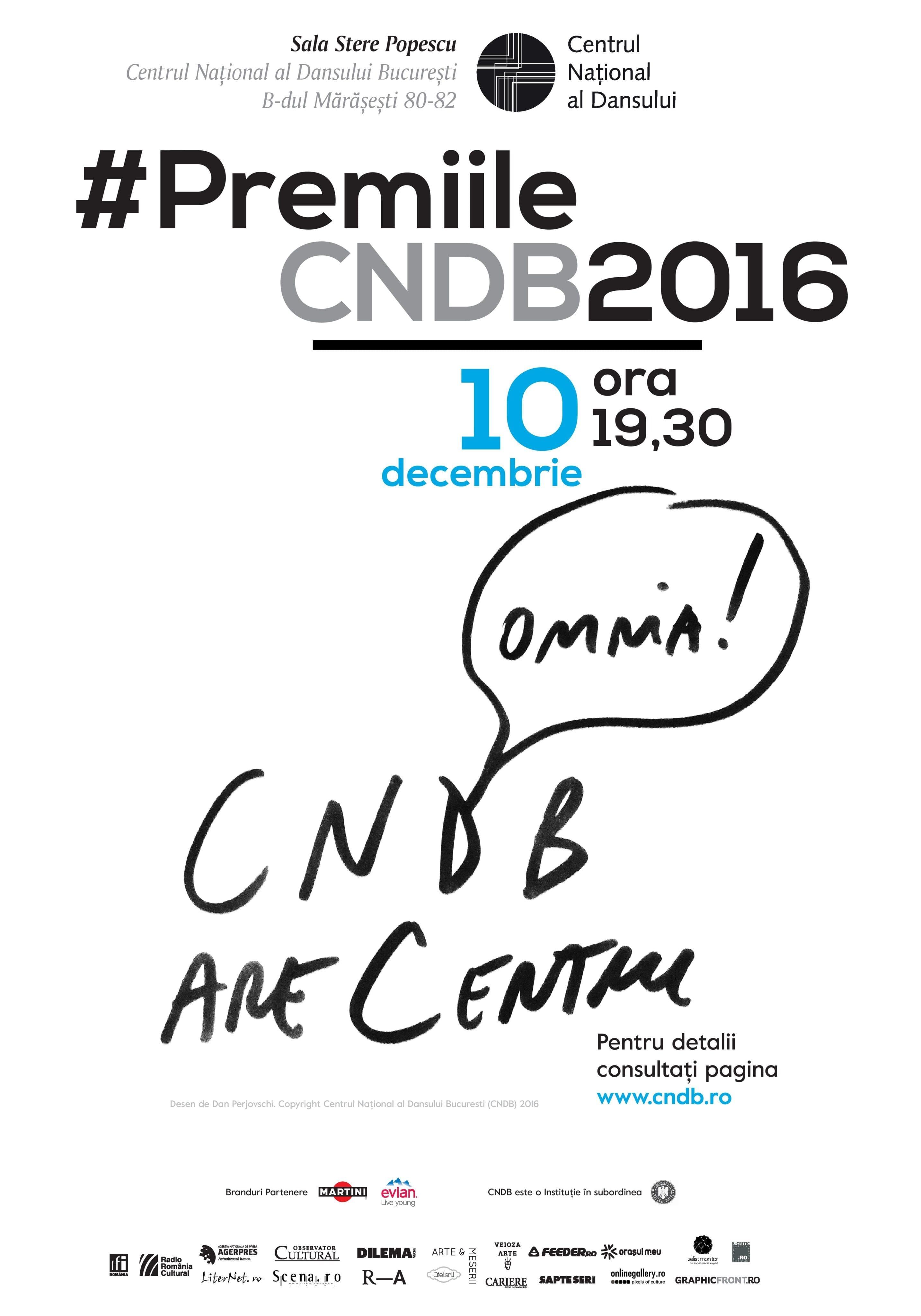 Afis PremiileCNDB2016