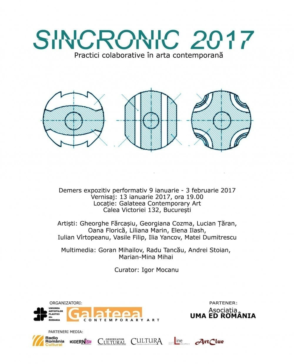 SinCronic 2017 @ Galateea Contemporary Art