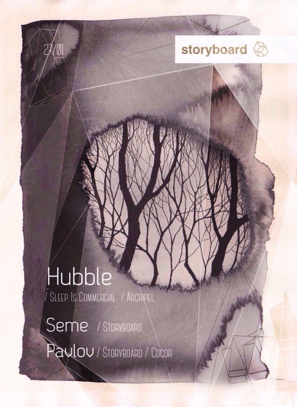 Hubble, Seme, Pavlov @ Gazette