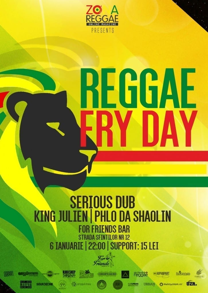 Reggae Fry-day 6 Ianuarie