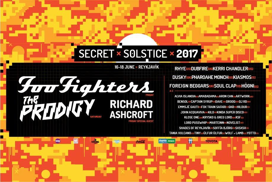 Secret Solstice Festival @ Reykjavik, Iceland