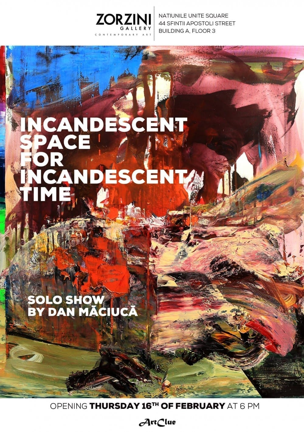 Incandescent Space for incandescent Time @ Zorzini Gallery