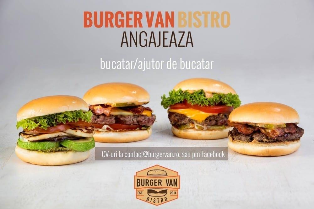 Burger Van își mărește echipa!