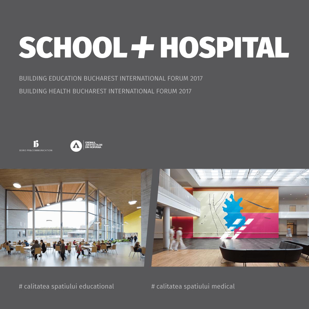 school and hospital