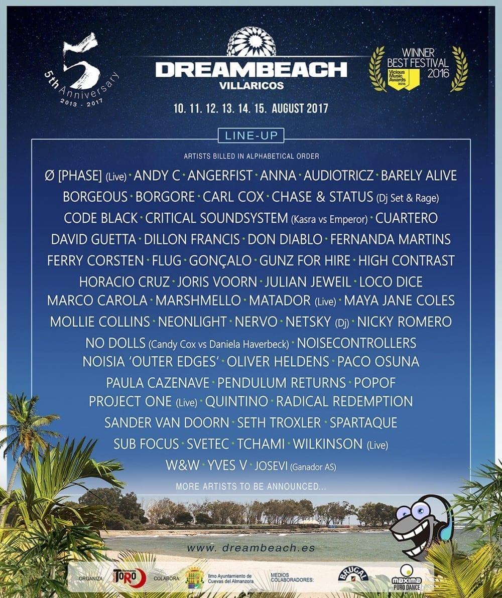 Dreambeach Festival @ Villaricos, Spain