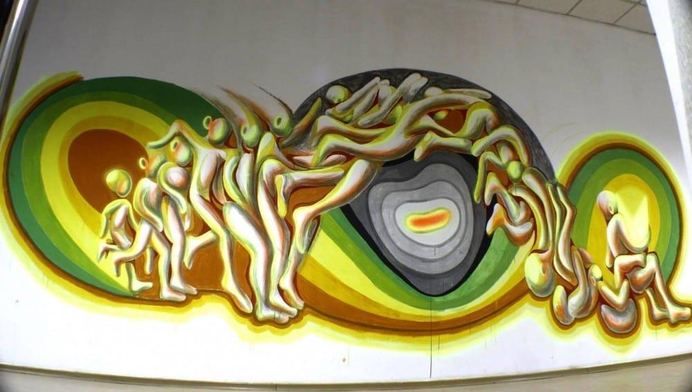 Pictăm pereți w/ Irlo @ Lente