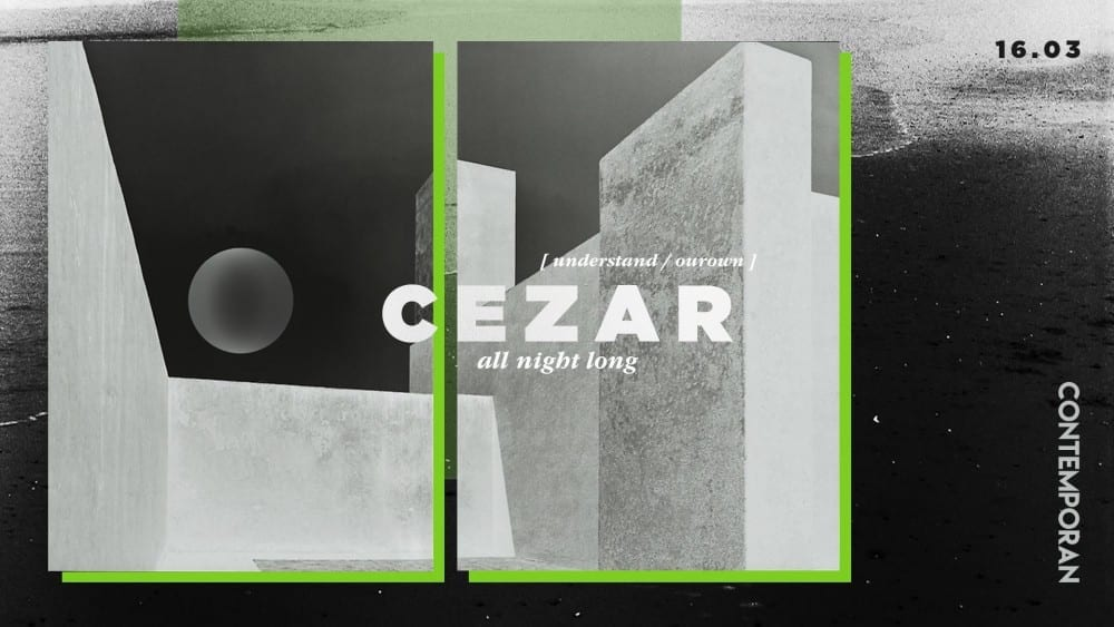 Contemporan pres. Cezar @ Control Club