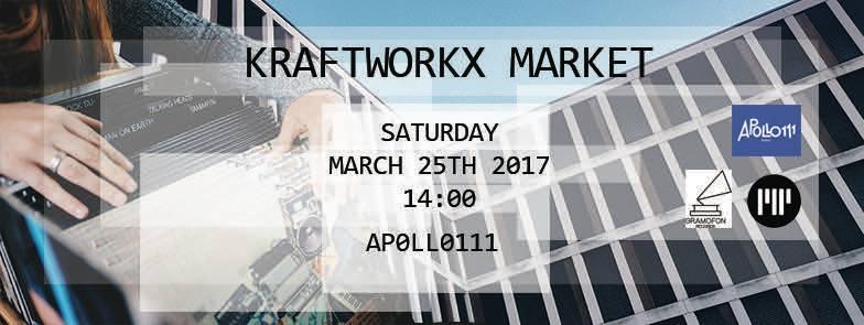 Kraftworkx x Market @ Apollo 111