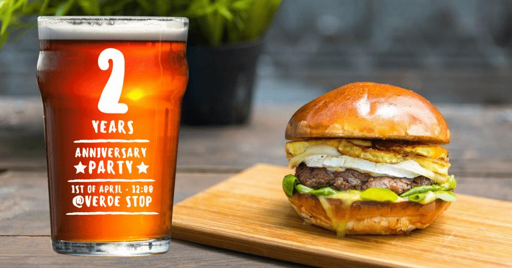 Burger Van @ Pipera, GroundZero Beer 2nd Anniversary