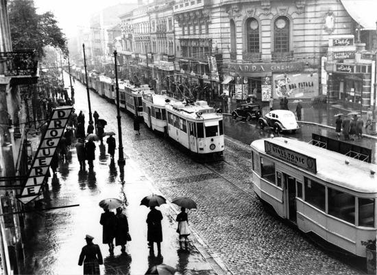 1932 Cinema Capitol bulevardul elisabeta greva nae ionescu
