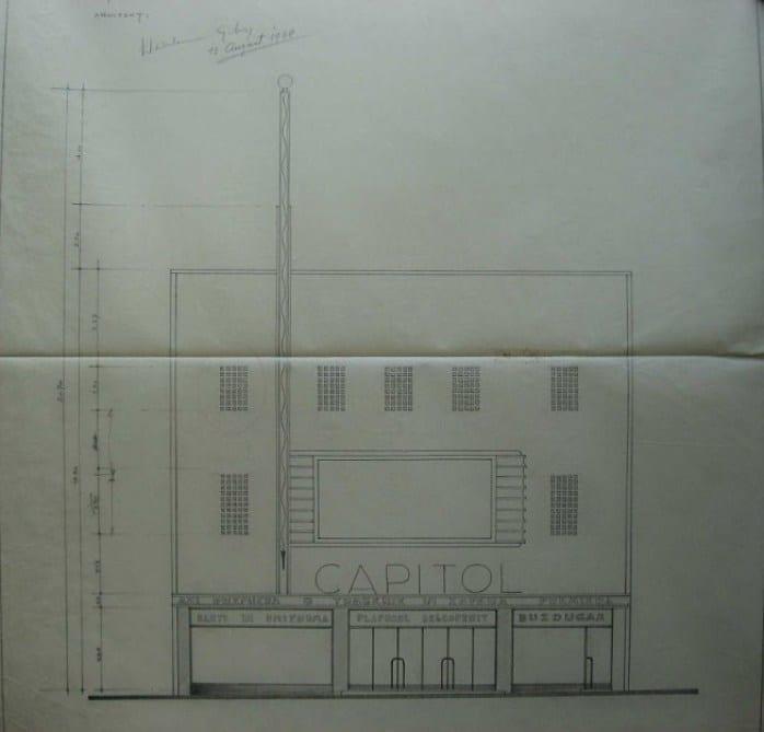 1938 Cinema Capitol Henrieta Delavrancea 04