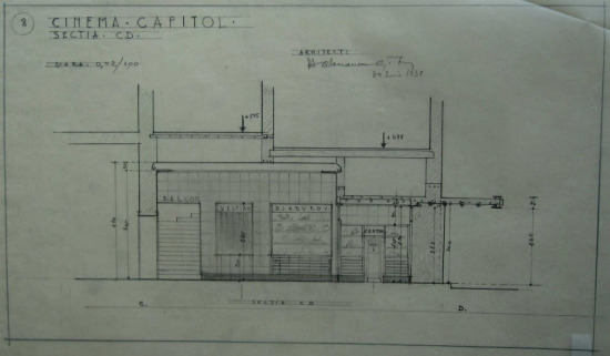 1938 Refacere fatada aparat-de-intrare Henrieta Delavrancea