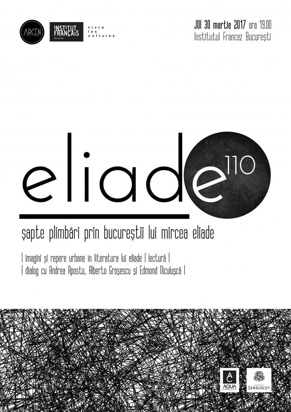 Eliade 110 @ Institutul Francez
