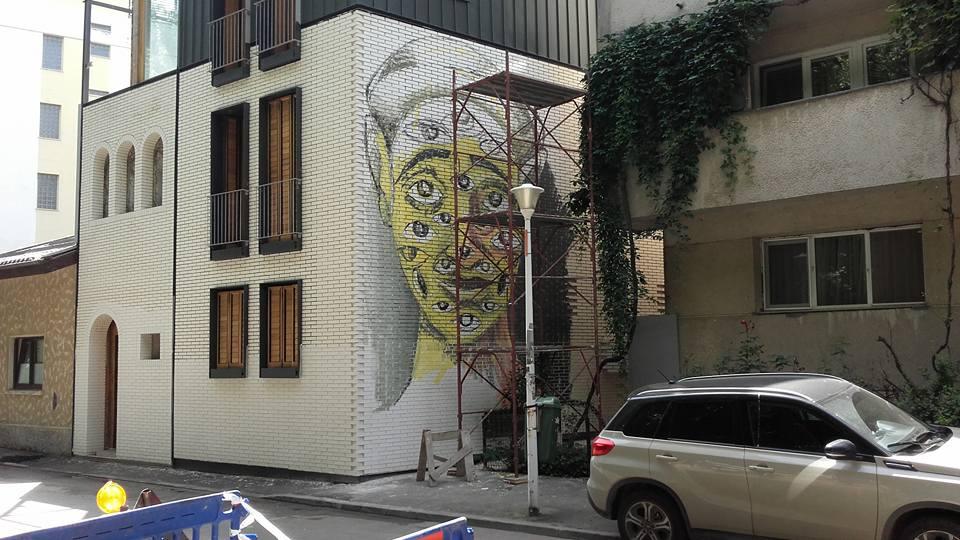 IRLO mural, Floreasca 2017