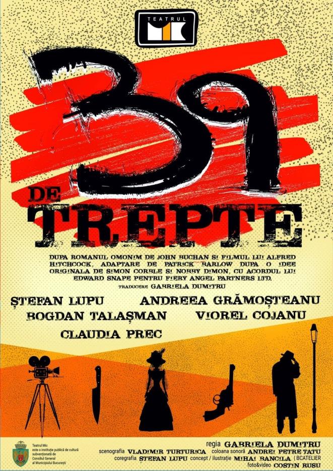 39 de trepte @ Teatrul Mic