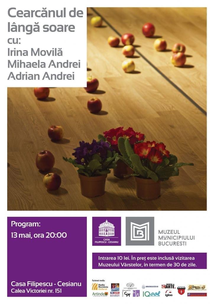 Recital de muzică și poezie veche de dragoste la Casa Filipescu-Cesianu