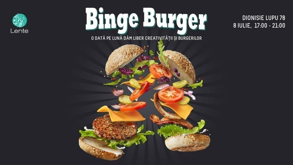 Lente Binge Burger freestyle