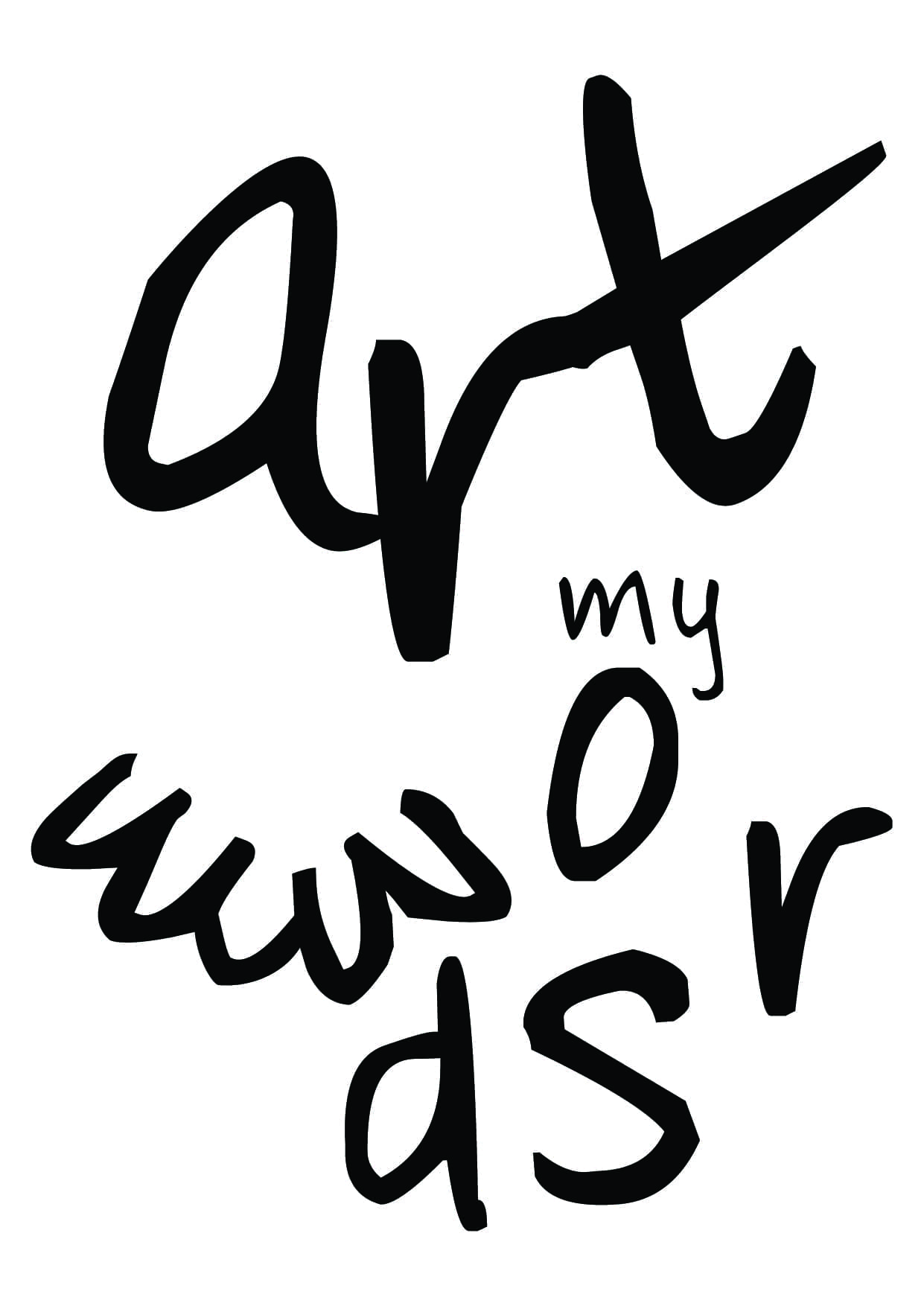 art my words open call