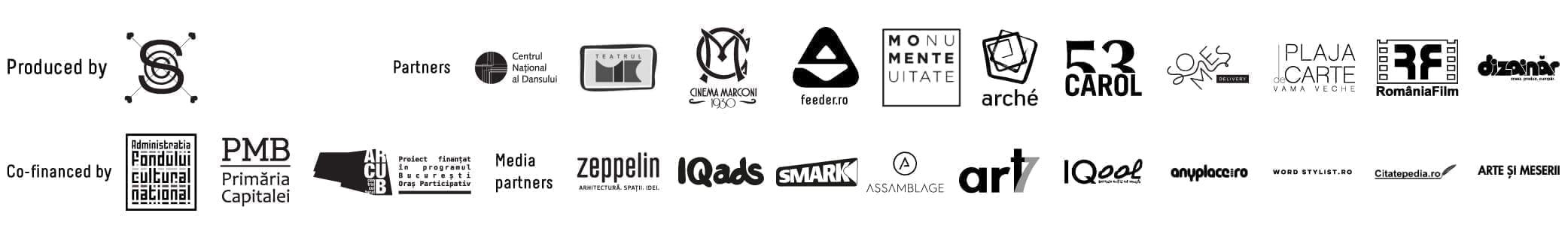 parteneri hub cultural Cinema / Teatrul de vară Capitol 2017-2018