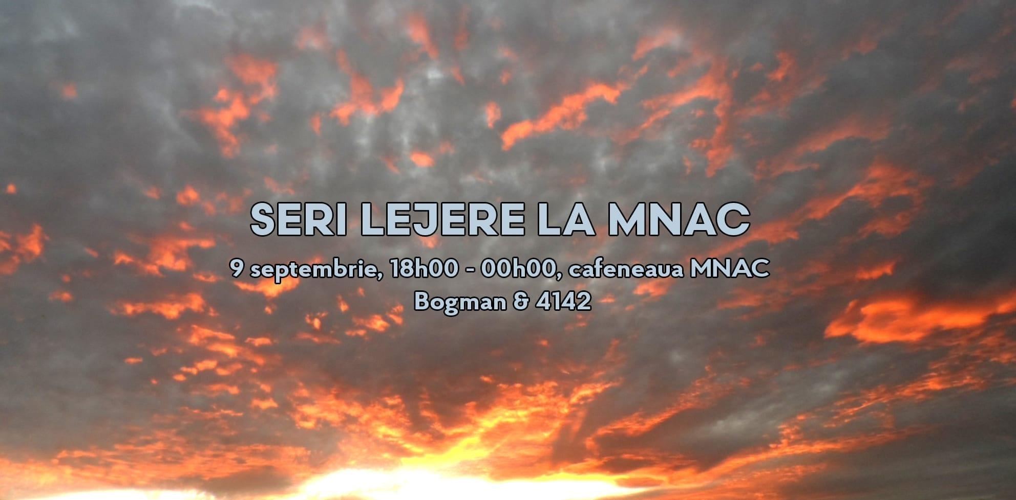 Seri lejere la MNAC | Bogman & 4142