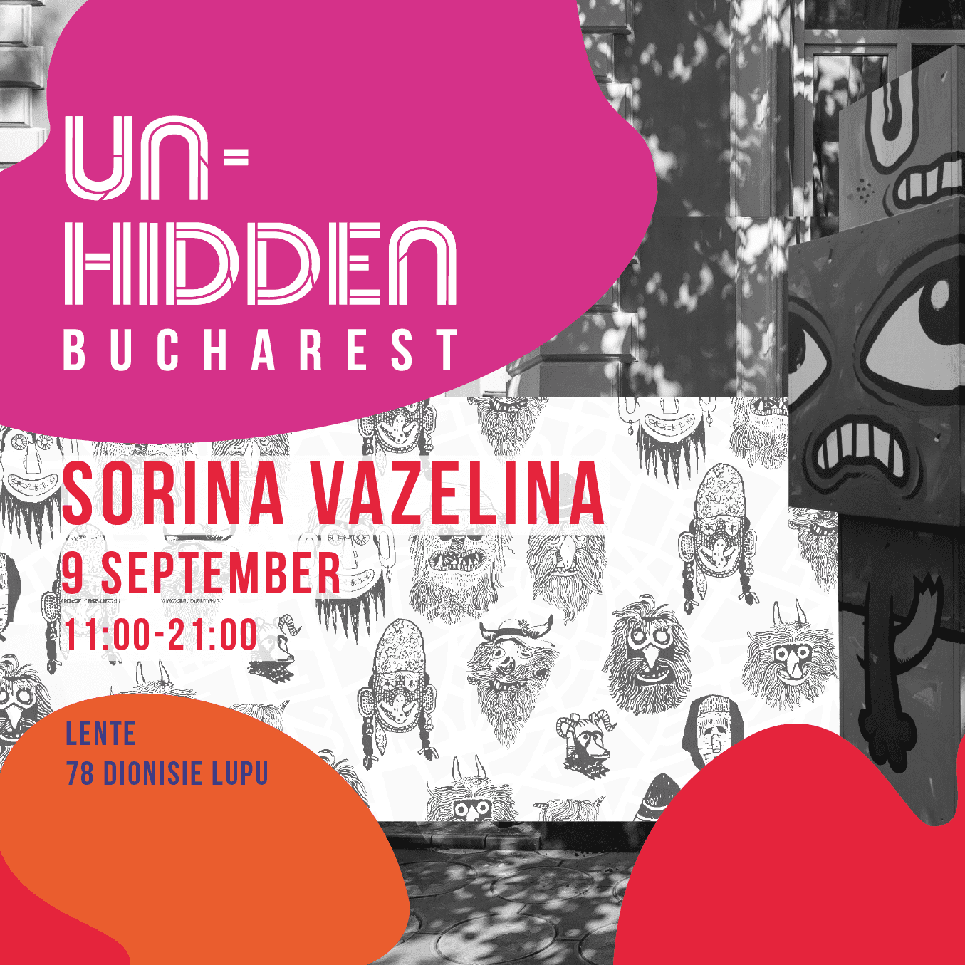 Un-hidden Bucharest Sorina Vazelina