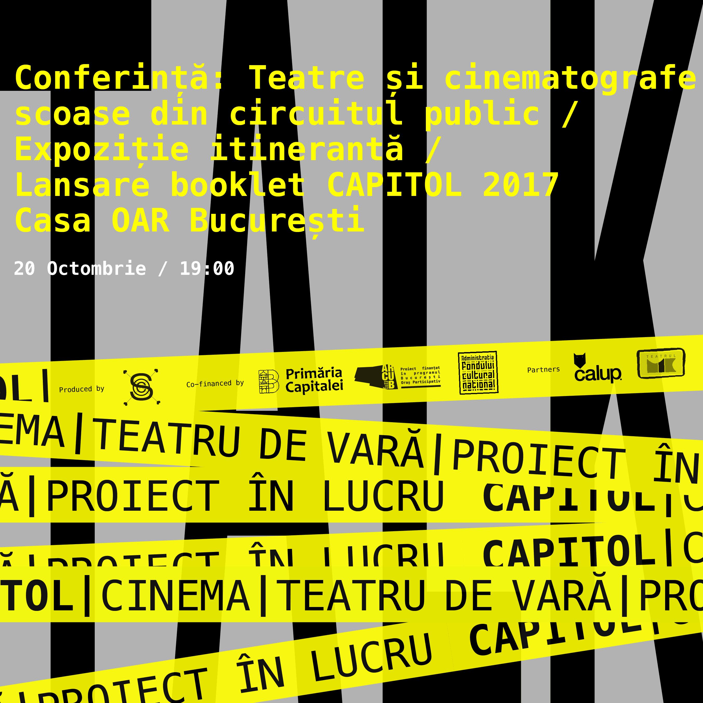 CAPITOL Talks 2 @ Casa OAR București