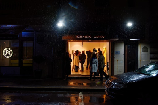 Noaptea Albă a Galeriilor 2017 Rotenberg Uzunov