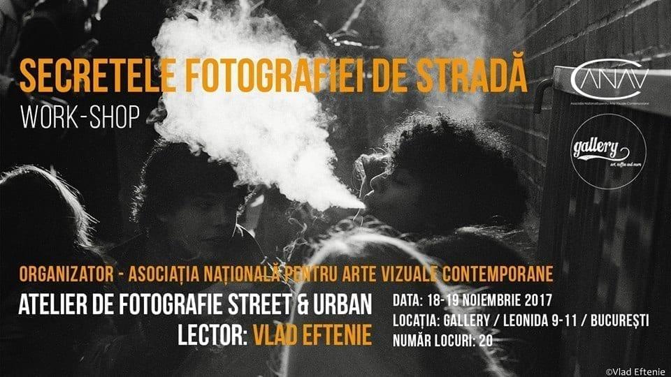 Secretele fotografiei de strada cu Vlad Eftenie