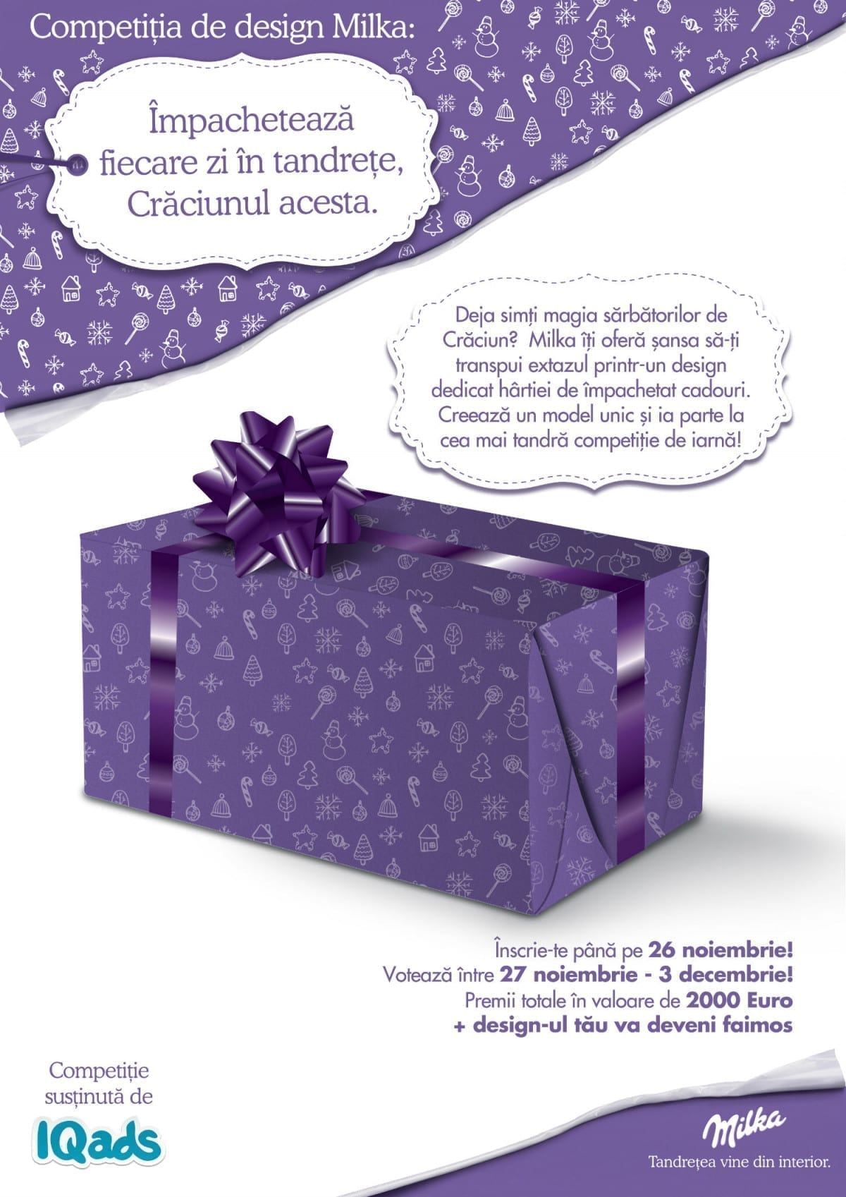 milka iqads competition brief