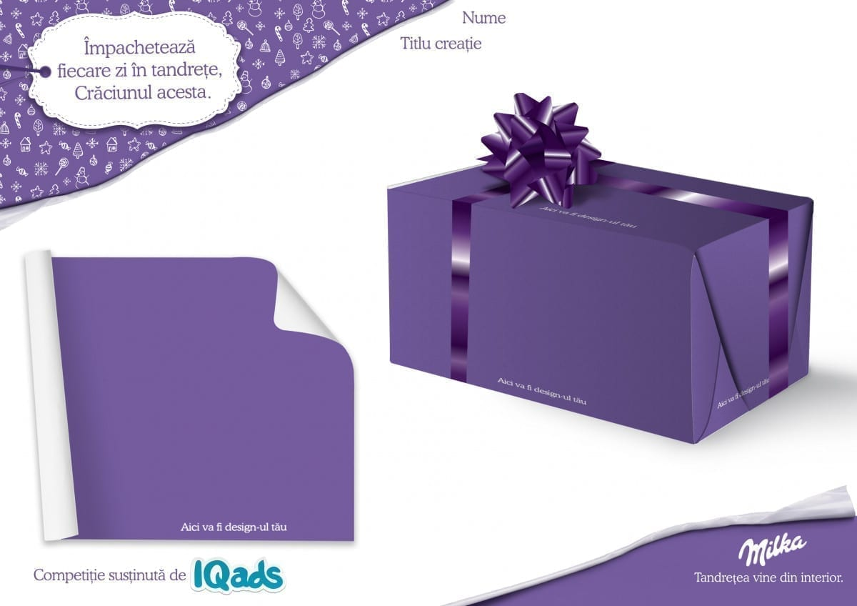 milka iqads design competition template
