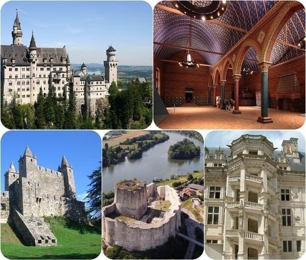 palate si castele europa