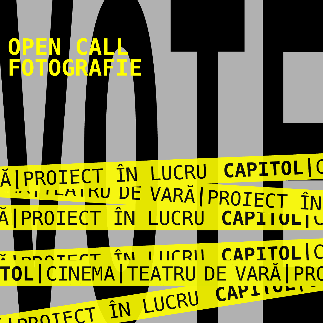 CAPITOL vote open call fotografie