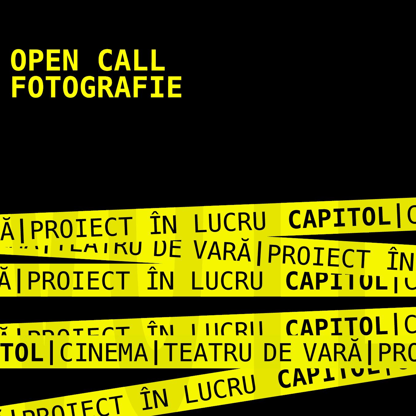 CAPITOL vote open call fotografie