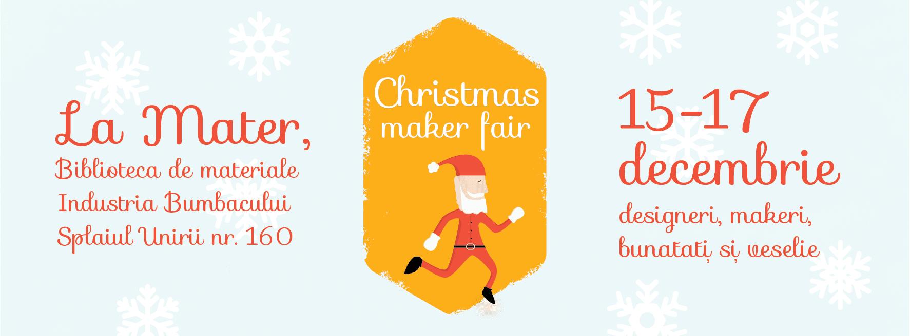 christmas maker fair mater
