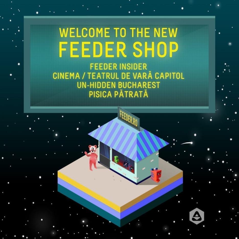 feeder.ro shop welcome