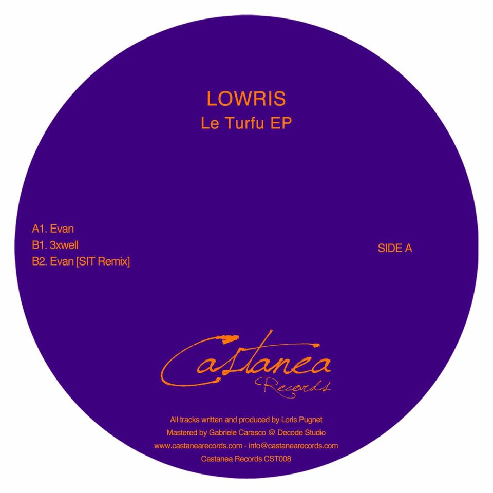 lowris le turfu ep vinyl