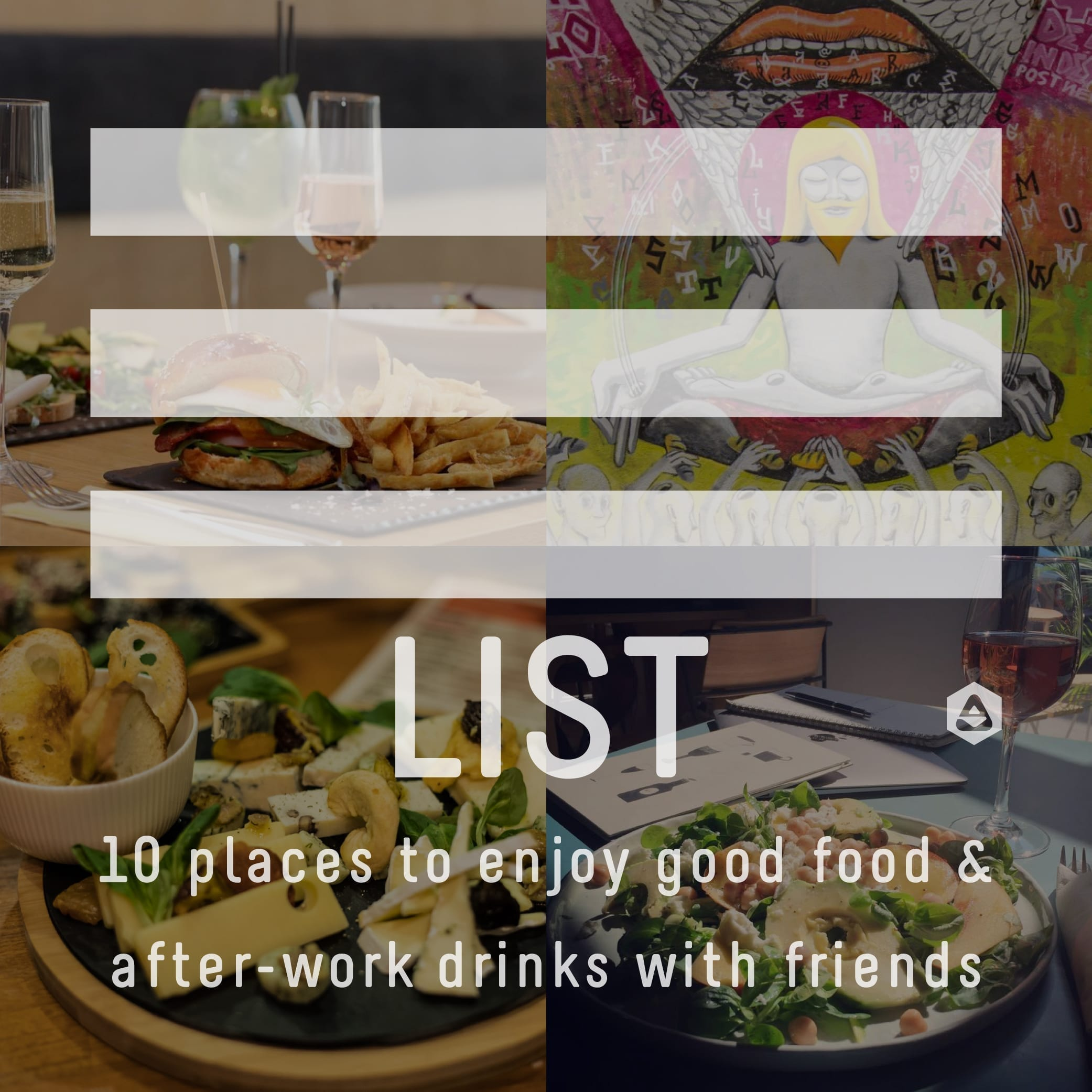 LIST: 10 places to enjoy good food & after-work drinks with friends