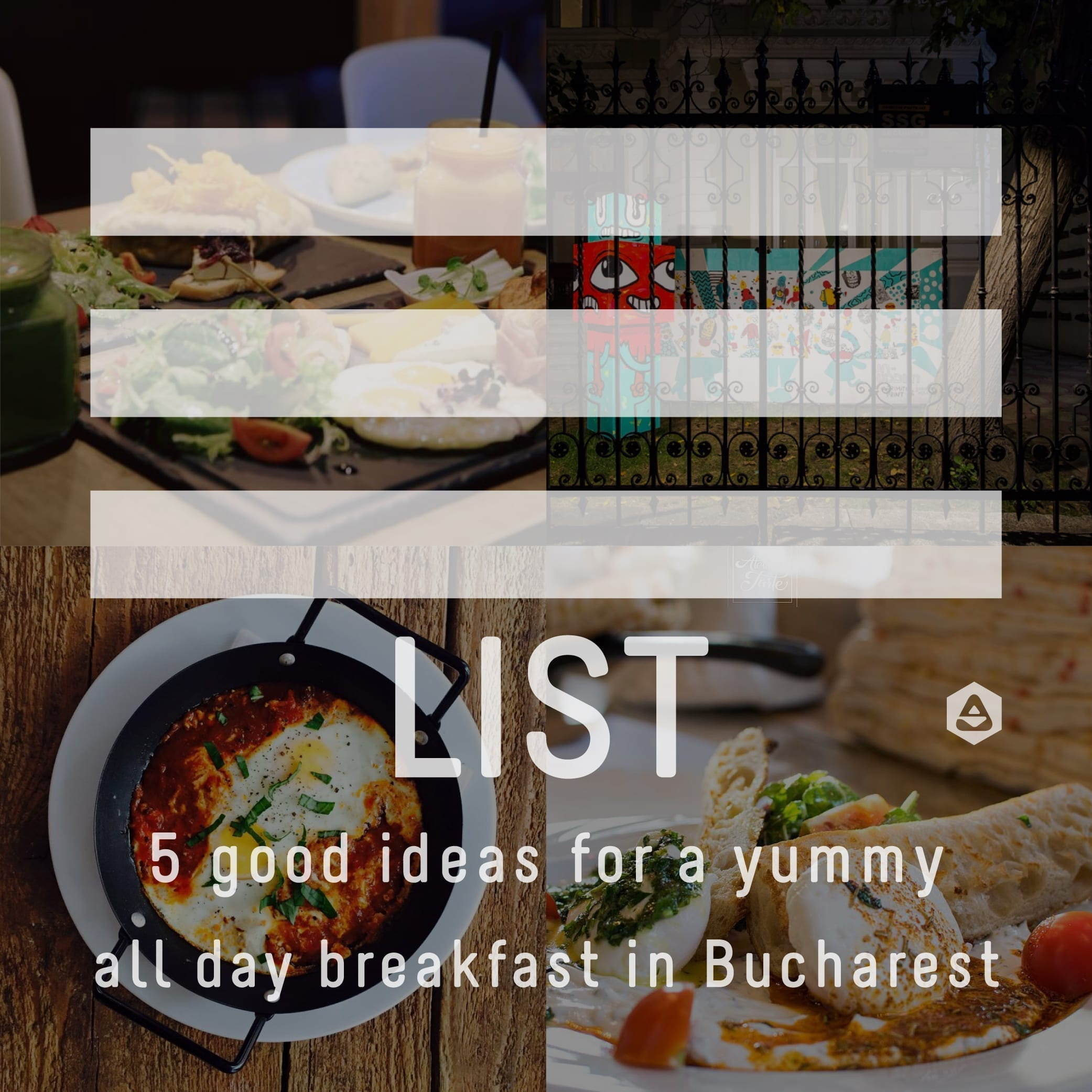 LIST: 5 good ideas for a yummy all day breakfast in Bucharest