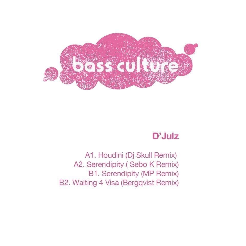 D'Julz presents 'Houdini remixes' on Bass Culture