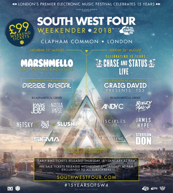 SW4 Festival UK