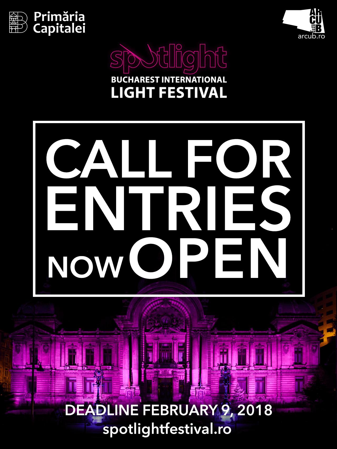 Spotlight Call for entries