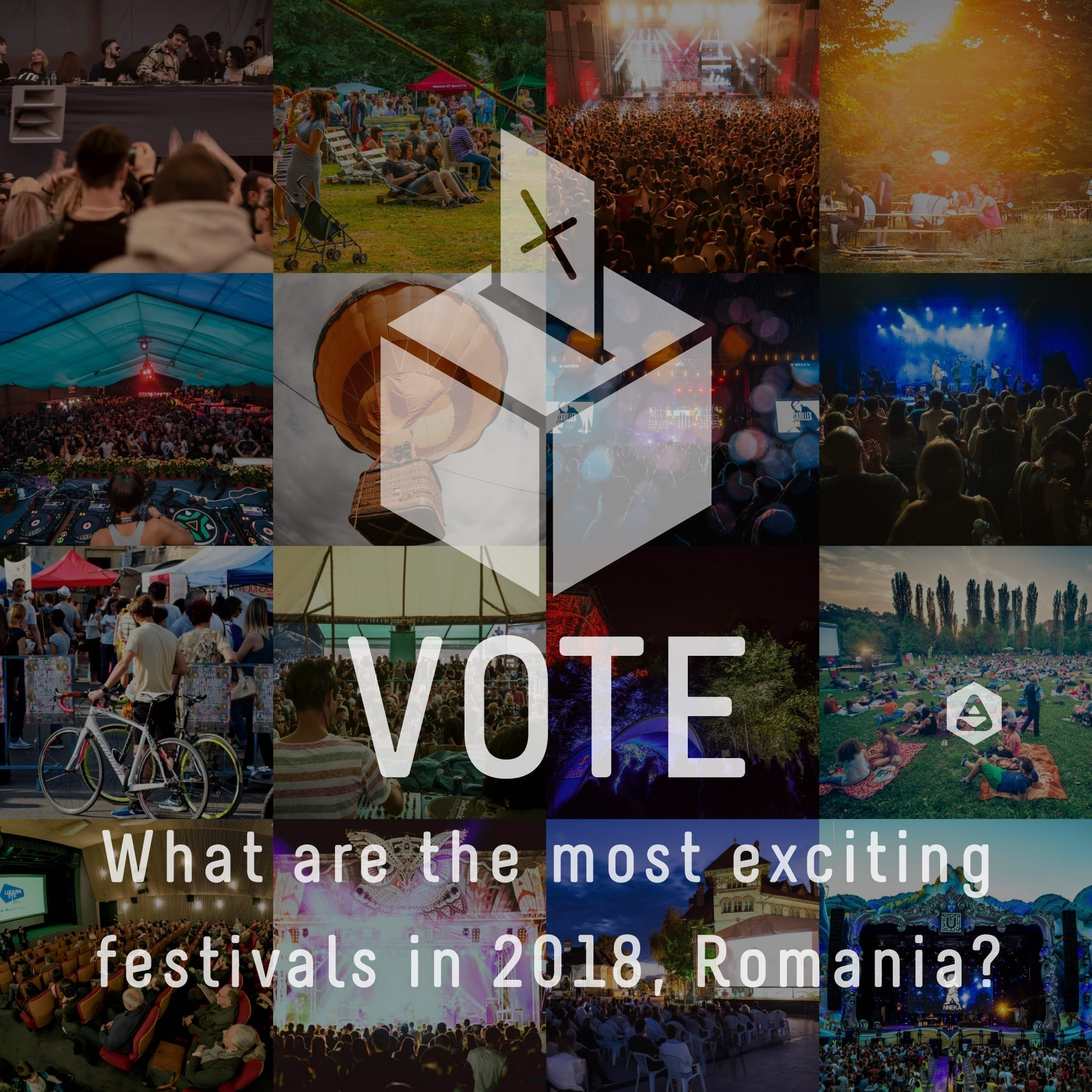VOTE What are the most exciting festivals in 2018, Romania?
